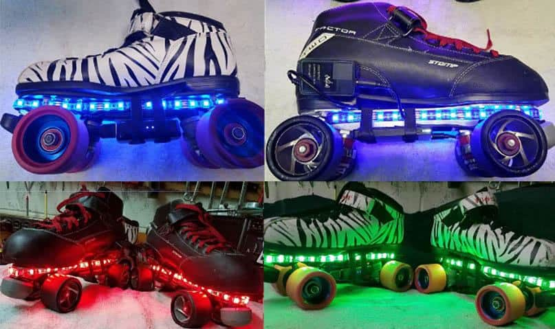 LED Light Up Roller Skates